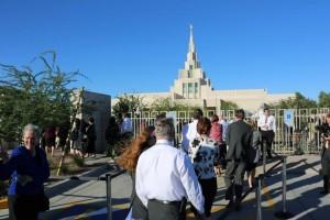 Temppeli on mormoneille pyhin paikka maan päällä. Siellä yhteys Jumalaan ja Taivaaseen voi olla voimakas
