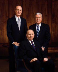 Myöhempien Aikojen Pyhien Jeesuksen Kristuksen Kirkon ensimmäinen presidenttikunta