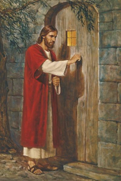 Jeesus sydämemme ja mielemme ovella - Avaammeko ja annammeko Hänen tulla elämäämme?