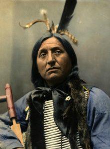Muotokuva eräästä Pohjois-Amerikan intiaanista