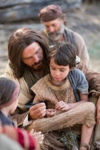 Jeesus lapsen kanssa