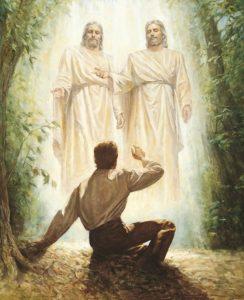 Jumala ja Kristus ilmestyvät Joseph Smithille