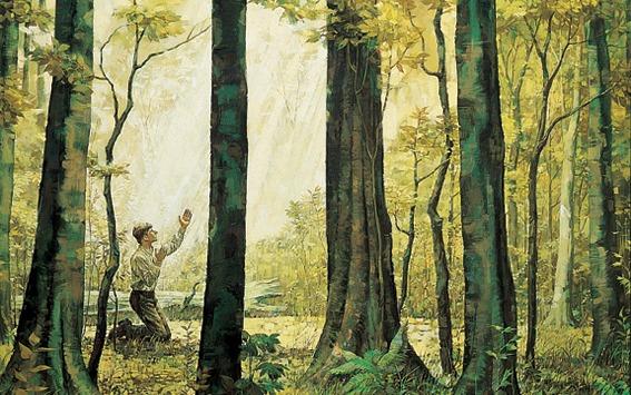 Alkuperäiset kertomukset Joseph Smithin ensimmäisestä näystä
