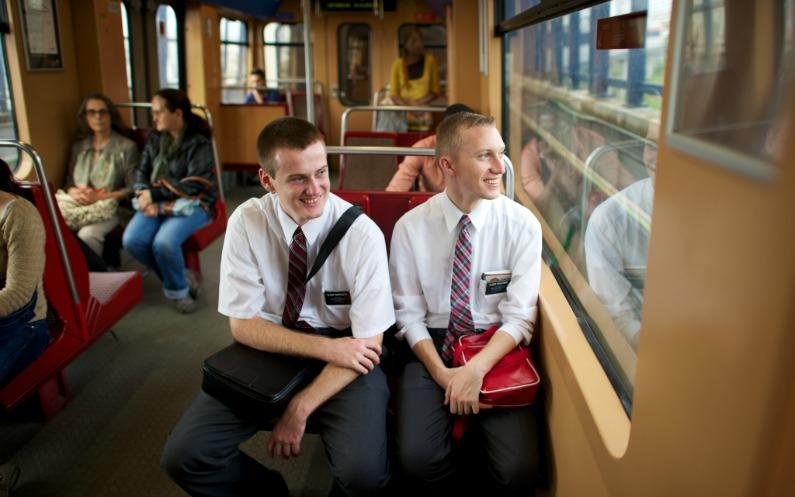 Mormonilähetyssaarnaajat nykypäivänä
