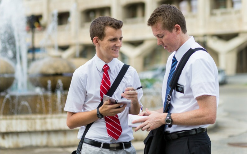 Kansakunnat vastaanottavat mormonilähetyssaarnaajat