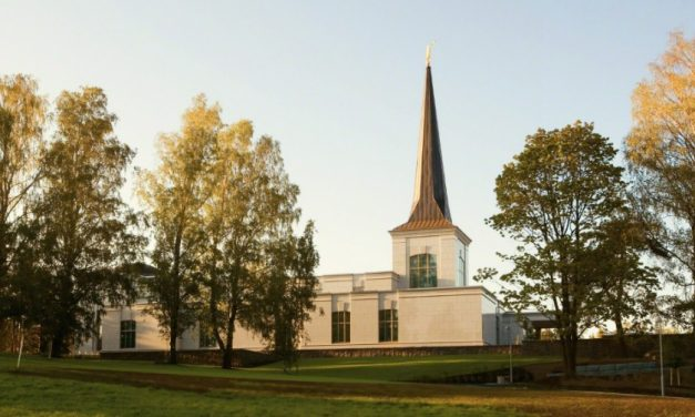 Näistä syistä käymme temppelissä
