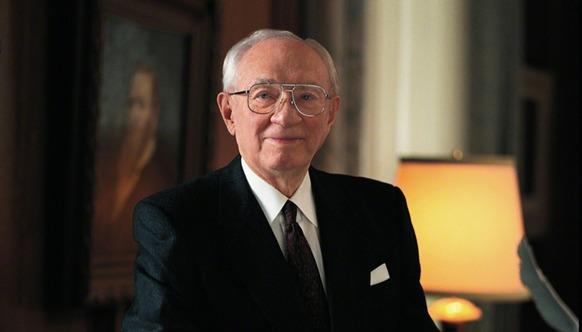 2 lausetta, jotka muuttivat presidentti Gordon B. Hinckleyn elämän