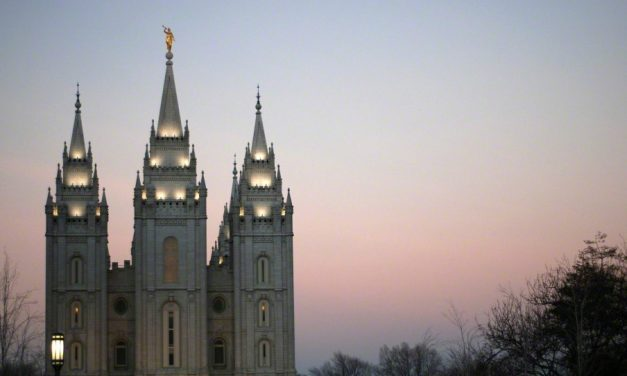 Mormonitemppeli-taiteilija Chad Hawkinsin haastattelu