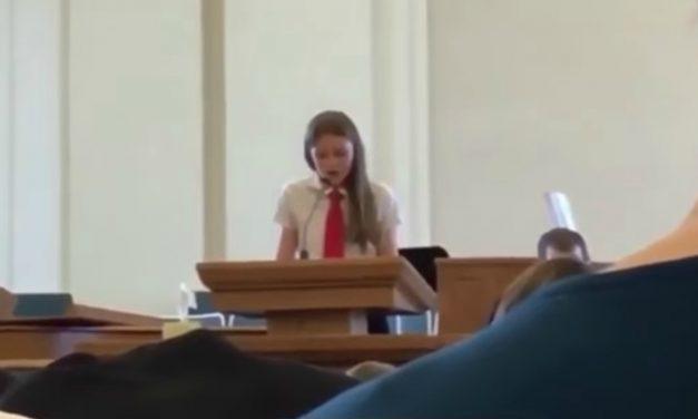 Vastine videoon 12-vuotiaasta tytöstä, joka julistautui lesboksi todistuskokouksessa