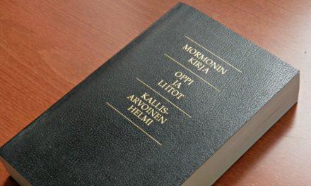 Olemmeko vain unohtaneet Mormonin kirjan?