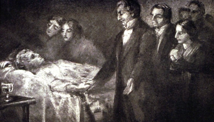 Kirkon historia: Joseph Smith herättää miehen kuolleista