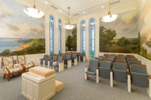 Mormonien endaumenttiseremoniassa annetaan opetusta luomisesta, elämän tarkoituksesta ja iankaikkisuudesta.