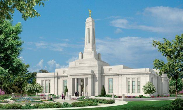 Ensimmäistä kertaa temppelissä